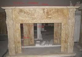 Travertine Fireplace Hearth - hand carved travertine fireplace mantel french design thegatz