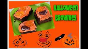 halloween brownies diy youtube