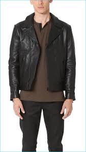sport biker jacket men u0027s leather biker jackets fall winter 2016 styles