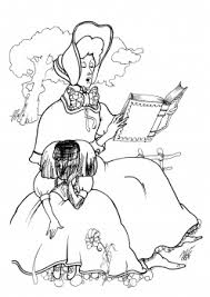 alice wonderland coloring pages disney coloring pages