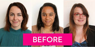 hairstyle makeovers before and after real women try 2015 s biggest hair color trends hair makeovers