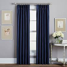 Curtain Outlets Spellbound Pinch Pleat Rod Pocket Lined Window Curtain Panel Bed
