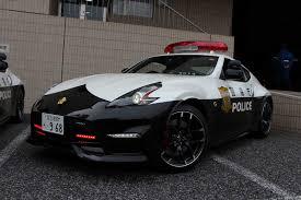 nissan 370z drifters beware tokyo police gets nissan 370z nismo patrol