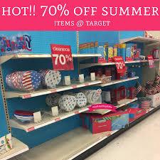 70 summer items target deal