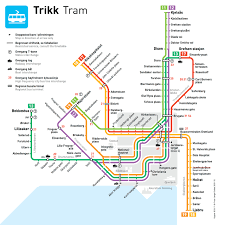 Mexico City Subway Map by Oslo Tram Transit Maps Pinterest Oslo