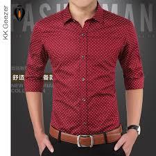 2018 wholesale brand fashion polka dot dress shirts sleeve