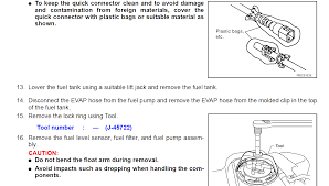 nissan pathfinder fuel tank capacity 2005 nissan pathfinder you replace the fuel level sensor