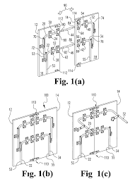 patent us6986722 compact collapsible tennis table google patents