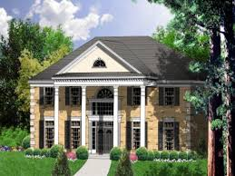 Colonial House Plans 2 Story Southern Home Plans Homes Zone