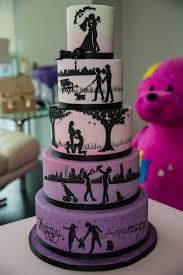 anniversary cake wedding cakes purple wedding anniversary cake purple wedding