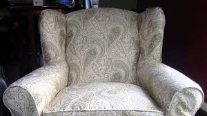 how to slipcover a chair how to a slipcover for a wing backed chair