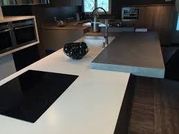 plan de travail design cuisine plan de travail béton ciré béton color design à franqueville