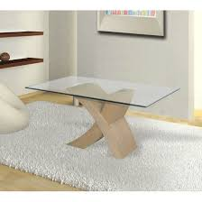 Oak And Glass Side Table Dining Room Tables Only Interior Design