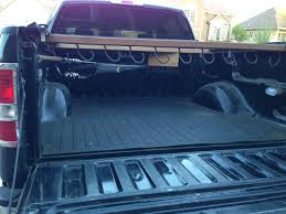 diy fishing rod holder and pole rack for 5 foot truck bed