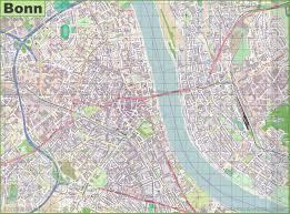 Bonn Germany Map by Bonn Maps Germany Maps Of Bonn
