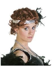 ladies fingerwave flapper wig womens flapper costume accessories