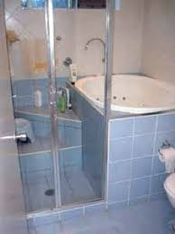 walk in tub that is also a shower and takes up as little space