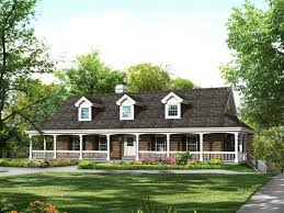 wrap around porch ideas one story house plan wrap around porch luxury e story country house