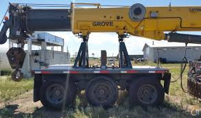 sold grove tms 9000e 2008 110 ton 350 000 with boom dolly