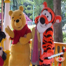 pooh mascot costumes ebay