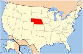 United States License Plate Map by Dakota County Nebraska Wikipedia