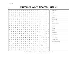 Free Word Search Worksheets Summer Worksheets Summer Word Search Puzzle Primarygames Play