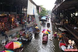 day trip from bangkok to damnoen saduak floating market