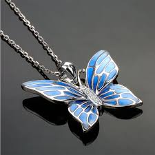 butterfly pendant necklace silver images Handmade sterling silver butterfly pendant fanduco jpg