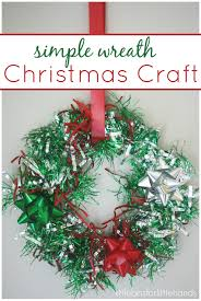 christmas wreathe craft activity for kids wreaths crafts craft