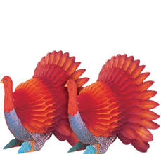 turkey decorations for thanksgiving pilgrim turkey decorations party city