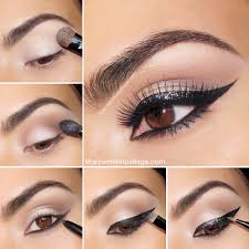 sparkly exotic cat eye i love cute makeup