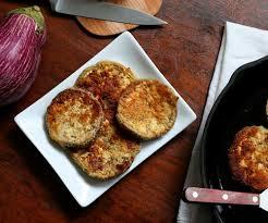 Fried Parmesan Low Carb Gluten Free Garlic Parmesan Eggplant Recipe All Day I