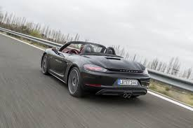 boxster porsche 2017 2017 porsche 718 boxster first drive review porsche boxster review