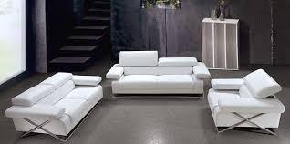 White Leather Sofa Modern Modern White Leather Sofa Set Vg 110 Leather Sofas