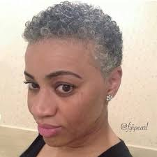 black women short grey hair natural hairstyles for short grey hair diy cool easy hairstyles