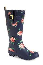 s boots nordstrom rack joules print welly boot nordstrom rack