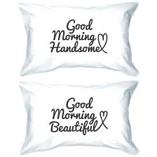 his and hers pillow cases his and hers pillow cases bedding dog side cheap