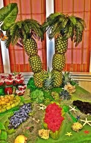 pineapple palm tree centerpiece home design ideas