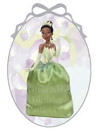 diy disney princess party favors princess and the frog favor