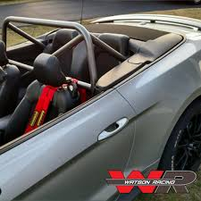 convertible mustang mustang convertible s550 4 point roll bar bolt in roll cage 2015