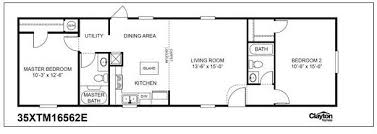 2 bedroom mobile home plans clayton extreme series 1st choice home centers