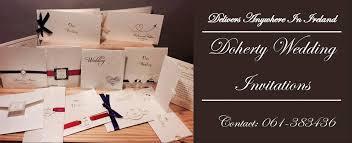 wedding invitations limerick doherty wedding invitations home