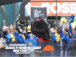 today show set csu bakersfield makes its mark on the today show kern am
