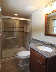 bathroom shower remodel ideas small bathroom remodeling fairfax burke manassas remodel pictures