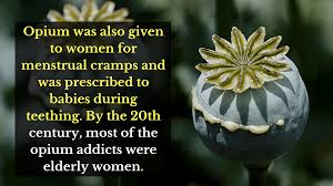 opium 8 illegal drugs that were very much legal once upon a time