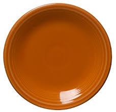 fiestaware egg plate 7 1 4 inch salad plate tangerine fiestaware