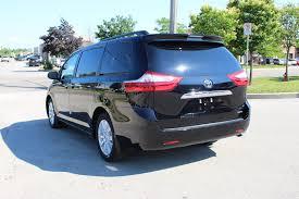 new 2017 toyota sienna limited mini van passenger in oakville