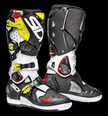 sidi crossfire motocross boots sidi off road boots crossfire 2 srs white black yellow fluo