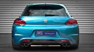 volkswagen scirocco 2016 modified new scirocco rear bumper from jms