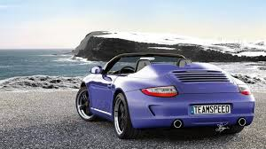 purple porsche 911 2011 porsche 911 997 speedster rendered